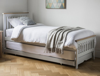 Gallery Banbury Grey Oak Painted Guest Bed 2 Only Available