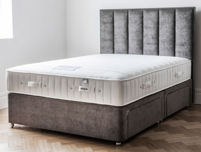 Gallery Natural Quilted Supreme 1400  Supreme Pocket Bed Non Turn