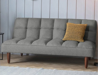 Gallery Oslo Futon Sofa Bed Grey