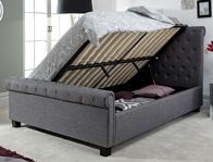 GFW Layla Ottoman Grey Bed Frame