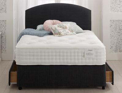 Healthbeds Heritage Cool Comfort 1400 Pocket Bed