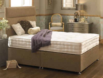 Healthopaedic Natural Pocket 1500 Divan Bed