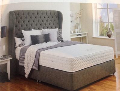 Hestia Latex Deluxe 1000 Pocket Divan Bed New