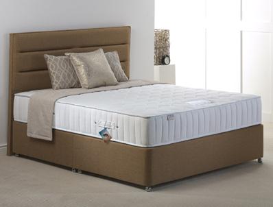Hestia Memory Comfort 1000 Pocket Divan Bed New