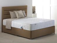 Hestia Memory Comfort 1000 Pocket Divan Bed New