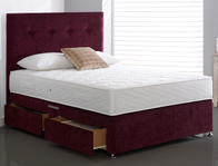 Highgrove Caesar Coil & Memory Foam Bed