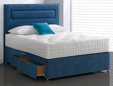Highgrove Carlton 1500 Pocket Spring Divan Bed