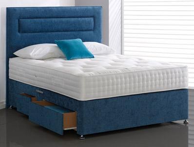 highgrove carlton 1500 pocket spring divan bed buy. Black Bedroom Furniture Sets. Home Design Ideas