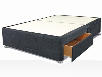 Highgrove Fabric Divan Base Plus Optional Headboard