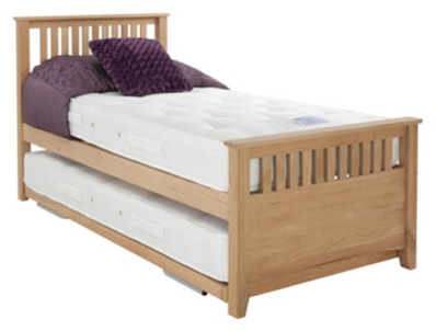 Hush A Bye Oakrest Sleep Over  Wooden Guest Bed
