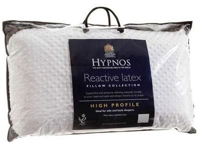 Hypnos Hi Profile Pure Latex Pillow (Pair)