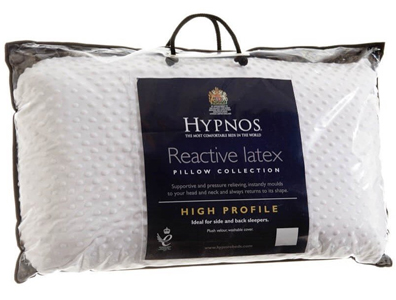 Hypnos Hi Profile Pure  Latex Pillow  Pair