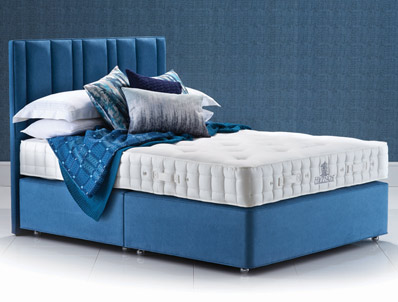 Hypnos luxury no turn deluxe divan bed buy online at for Best value divan beds