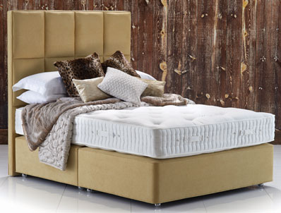 Hypnos Maple Natural Superb Divan Bed - New Model