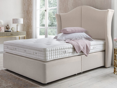 Hypnos Willow Natural Sublime Divan Bed - New Model