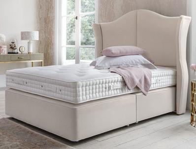 Hypnos willow sublime divan bed buy online at bestpricebeds for Best value divan beds