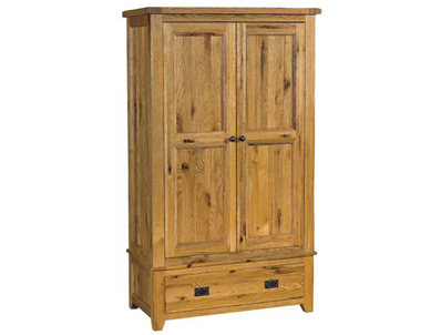 Instyle Country Oak  Wardrobe