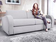 Jaybe Retro Sofa Bed x Free Scatters Cushions