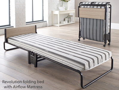 Jaybe Revolution Airflow Fibre Folding Bed