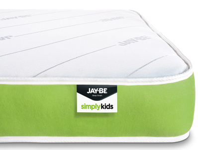 Jay-Be Simply Kids Anti allergy sprung mattress