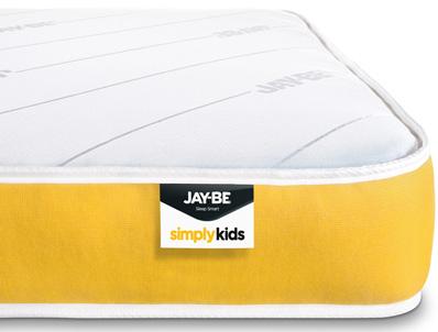 Jay-Be Simply Kids Pocket Sprung anti allergy mattress