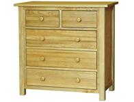 John Mackintosh Modern Oak 2 Over 3 Drawer Chest