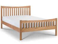 Julian Bowen Bergamo oak Bed Frame