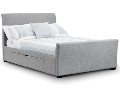 Julian Bowen Capone Storage Fabric Bed frame