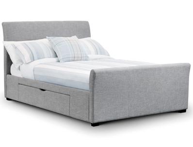 Julian Bowen Capri Storage Fabric Bed frame
