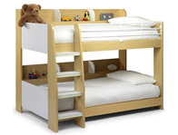 Julian Bowen Domino High Bunk Bed White