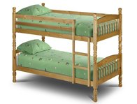 Julian Bowen Lincoln Pine Bunk Bed Frame