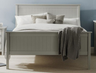 Julian Bowen Maine Dove Grey Bed Frame