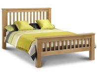 Julian Bowen Marlborough American Oak Bed Frame