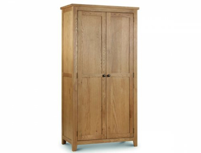 Julian Bowen Marlborough Oak Wardrobes
