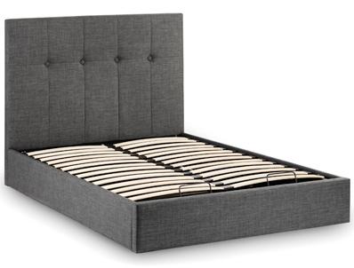 Julian Bowen Sorrento Fabric Ottoman Bed Frame