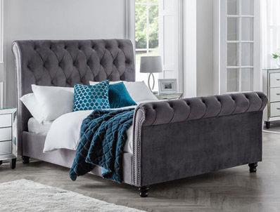 Julian Bowen Valentino Fabric Bed Frame