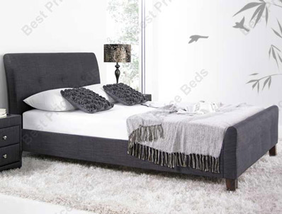 Kaydian Amble Fabric Bed Frame Slate Only