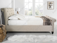 Kaydian Belford Chesterfield Style Fabric Bed Frame Discontinued