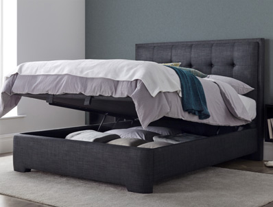 Kaydian Brunel Fabric Ottoman Bed Frame