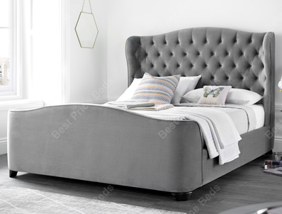 Kaydian Duchess Winged Fabric Bed Frame