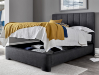 Kaydian Medburn Slate Ottoman Bed frame