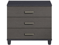 KT Deco Large 3 Drawer Wide Chest