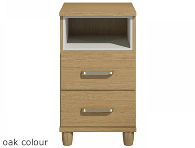 KT Deco Oak Style 2 Drawer Pod chest & Light