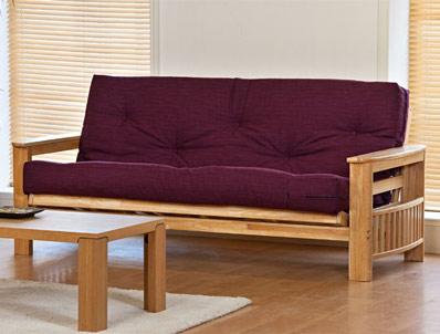 Kyoto Jasmin Solid Wood Futon Bed
