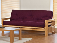 Kyoto Jasmin Solid Wood Futon Bed