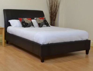 Kyoto Linton/Thames  Fabric Bed Frame