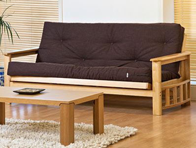 Kyoto Vegas Rubberwood Futon Bed