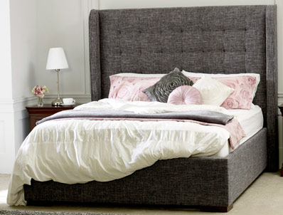 Limelight Aqulia Fabric Bed Frame