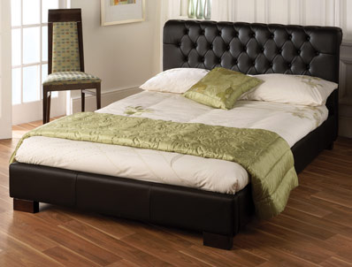 Limelight aries faux leather bed frame buy online at bestpricebeds - Bed frame styles types ...