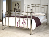 Limelight Callisto Chrome Finish Bed Frame